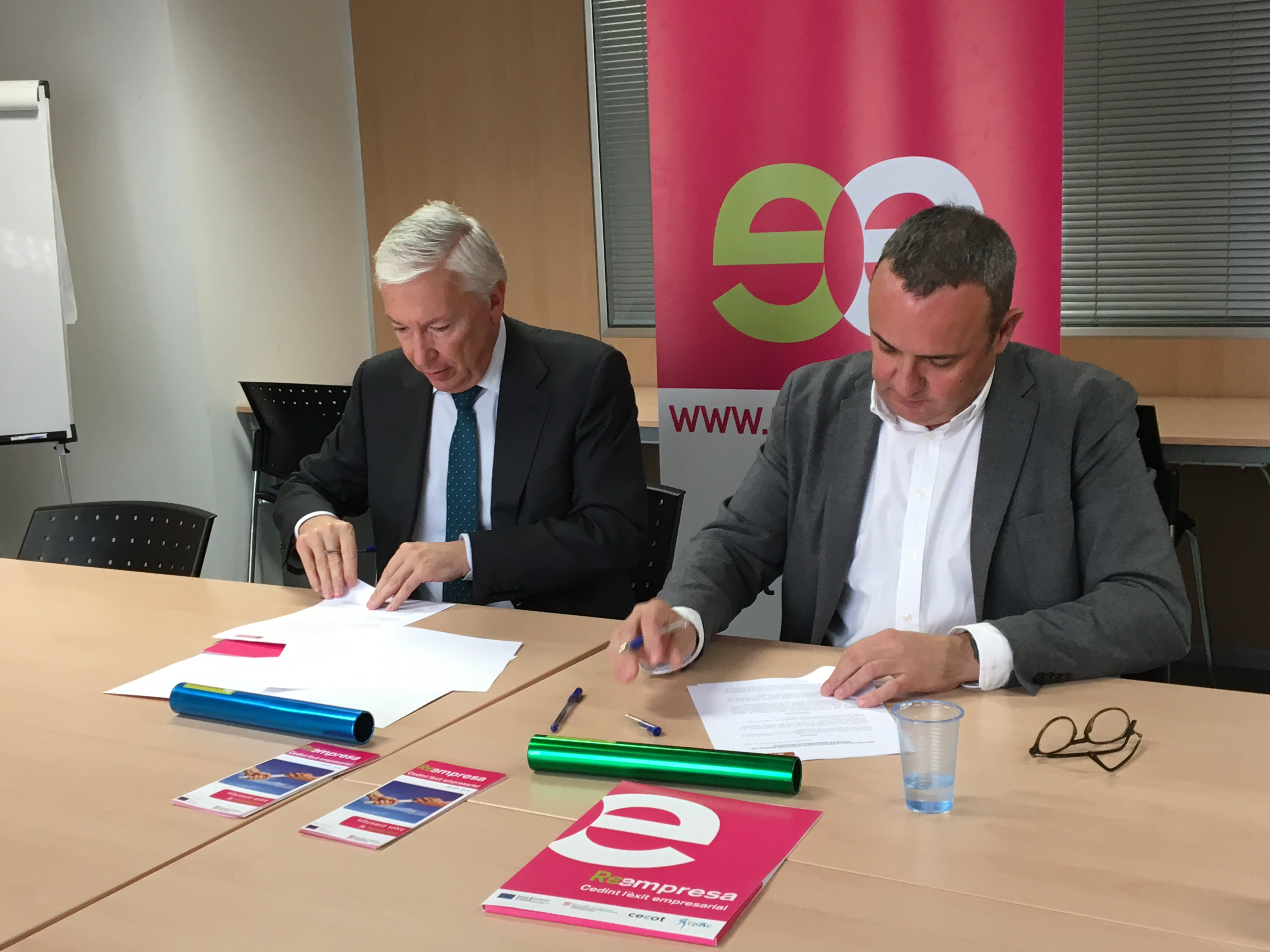 Barcelona Oberta and employer Cecot sign a collaboration agreement | Barcelona Oberta
