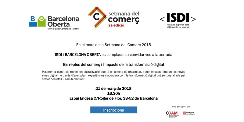 "Talk ""The challenges of trade and the impact of digital transformation"" 