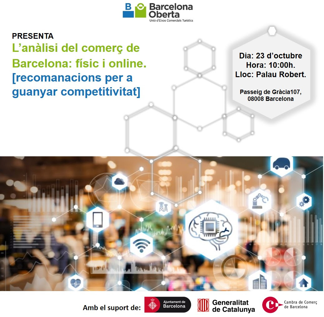 Presentation study: Analysis of Barcelona's trade, physical and online | Barcelona Oberta