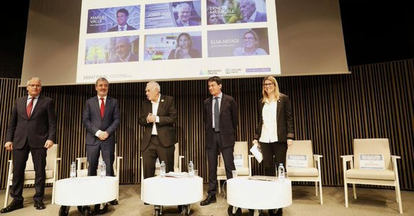 Final debate with candidates for the Mayor of Barcelona | Barcelona Oberta